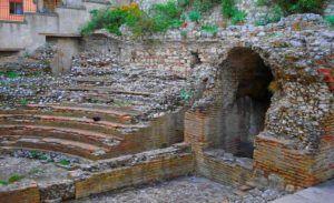 Teatro Romano u Odeón Romano de Taormina, Sicilia