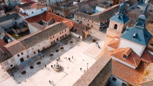 La Plaza del Mercado vista de Dron