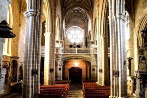 Interior de la Iglesia de Santa María la Mayor, Trujillo