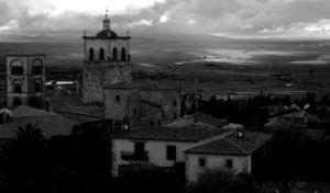 Vistas desde el Castillo Alcazaba de Trujillo, Cáceres