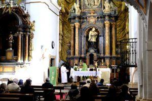 Interior de la Iglesia de Nuevo Baztán, Madrid