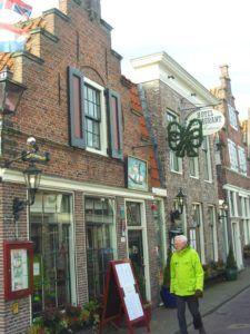 Casas típicas de Edam, Holanda