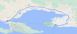 Cómo llegar a Trogir desde Splir, Croacia