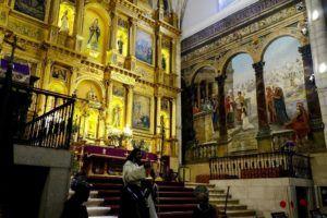 Interior de la Iglesia de Santa María la Mayor