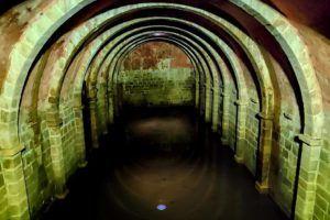 Interior de la cisterna de Marvao
