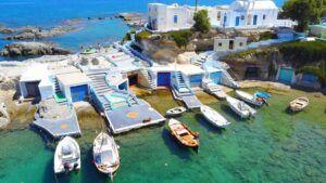 Qué ver en Mandrakia (Grecia). Los pueblos más bonitos de Milos