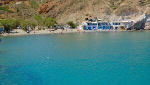 Firopotamos Beach, qué ver en Milos (Grecia). Las mejores playas